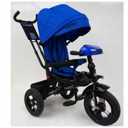 Велосипед багатоцільовий TURBOTRIKE М5448HA регульована спинка Синій