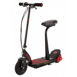 Електросамокат RAZOR POWER CORE E100-S 8-100-24 Black/Red знімне сидіння