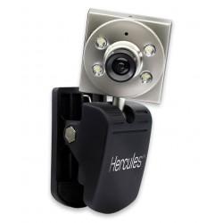 Веб-камера Hercules Classic Silver VGA зі світлодіодами