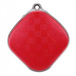 Брелок GPS-Трекер GOGPS + LBS + Wifi c функцією прослуховування 3,5 см Червоний