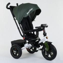 Велосипед з батьківською ручкою Best Trike сталева рама 95002265 Зелений