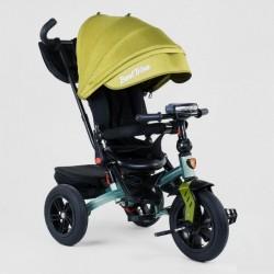 Велосипед з батьківською ручкою Best Trike сталева рама 95002774 Жовтий