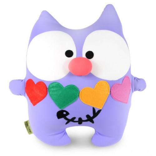 М'яка іграшка-муфта Ручний Кот Свято 30 см з кишенями антистрес кольоровий