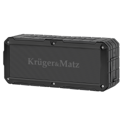Колонка Kruger & Matz DISCOVERY KM0523B Black 10 годин роботи + ударостійкий корпус