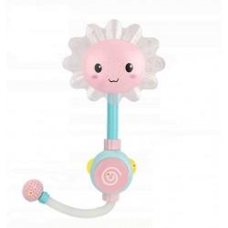 Іграшка для ванної фонтанчик Junsun Рожевий Соняшник бризкалка