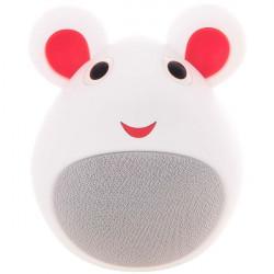 Портативна Bluetooth Колонка iCutes Mouse White