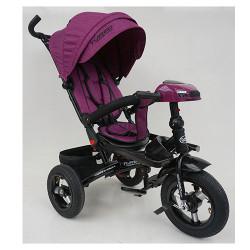 Велосипед багатоцільовий TURBOTRIKE М5448HA регульована спинка Фіолетовий