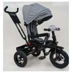 Велосипед багатоцільовий TURBOTRIKE М5448HA регульована спинка Сірий