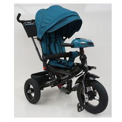 Велосипед багатоцільовий TURBOTRIKE М5448HA регульована спинка Темно-бірюзовий