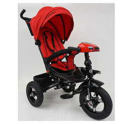 Велосипед багатоцільовий TURBOTRIKE М5448HA регульована спинка Червоний