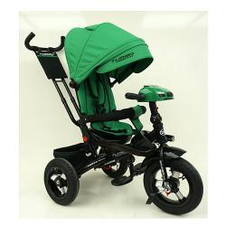 Велосипед багатоцільовий TURBOTRIKE М5448HA регульована спинка Зелений