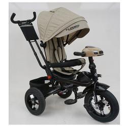 Велосипед багатоцільовий TURBOTRIKE М5448HA регульована спинка Бежевий