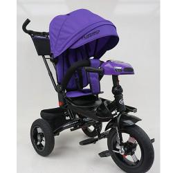 Велосипед багатоцільовий TURBOTRIKE М-5448-HA регульована спинка Фіолетовий