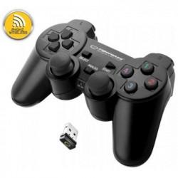 Геймпад бездротової джойстик Esperanza Gladiator EGG108K PC/PS3 Black