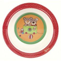 Дитяча глибока тарілка Sigikid Wild & Berry Bears 24519SK