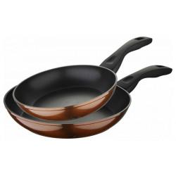 Набір 2 сковороди Bergner Neon Bronze 20см і 24см