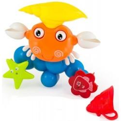Іграшка для ванної Bath Toys Puzzle Crab Кумедний Краб