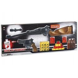 Іграшкові рушницю і пістолет Edison Giocattoli Multitarget набір з мішенями і кульками (629/22)