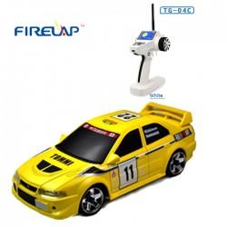 Автомодель р/у 1:28 Firelap IW04M Mitsubishi EVO 4WD (жовтий)